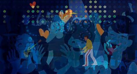 doodle do freddie mercury new doodle honors freddie mercury s 65th birthday