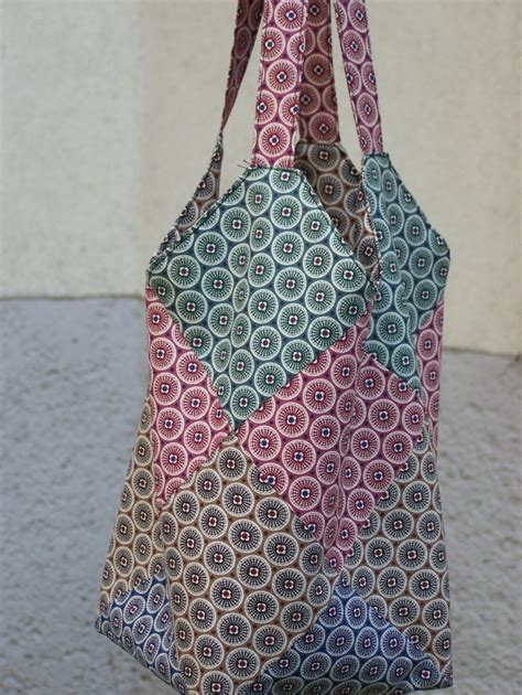 Patchwork Bag Pattern - reversible tote bag 171 a quilter s diary