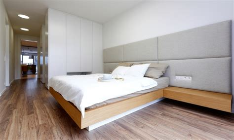 bedroom side view new spacious apartment boasting a fresh and modern