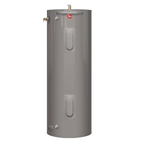 how much does a residential electric water heater and