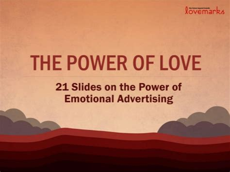 The Power Of Ads by The Power Of Evidence Of The Power Of Emotional