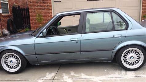 1989 4 door cirrus blue bmw e30 325i