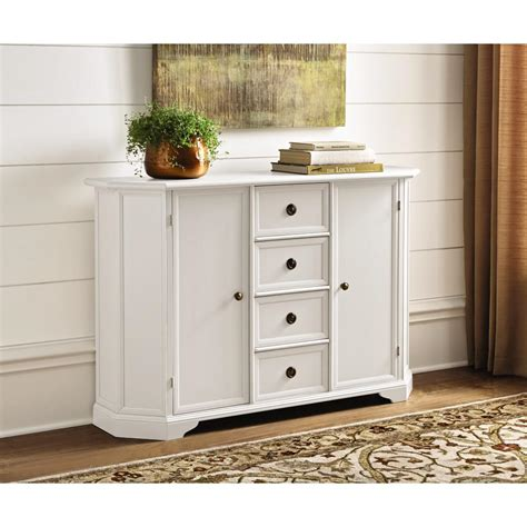 Home Decorators Buffet by Home Decorators Collection Caley Antique White Buffet