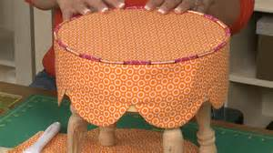 how to make a seat cover for a stool nsc