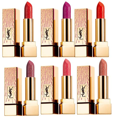 Ysl Pur Couture Rpc 52 ysl dazzling nights makeup collection for 2017
