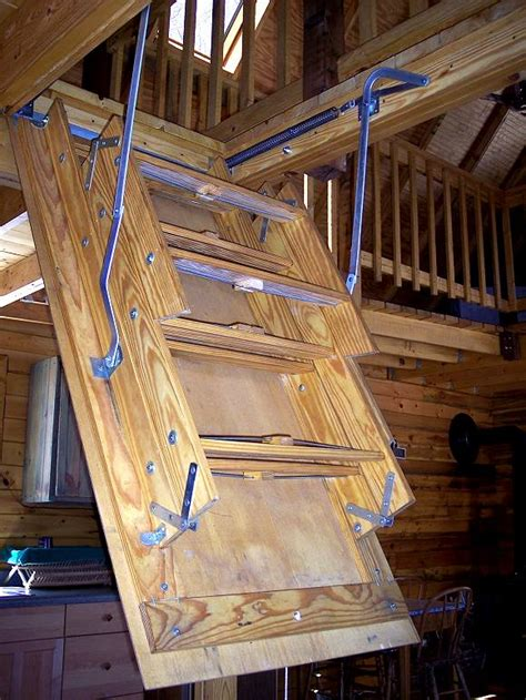 Small Cabin Loft Stairs Tiny House Code Compliance
