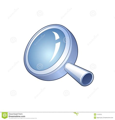 Detailed Free Search Search Symbol Detailed Icon Of Magnifying Glass Royalty Free Stock Photo Image
