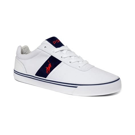 ralph white sneakers polo ralph hanford sneakers in white for