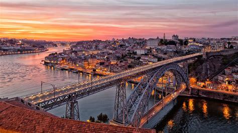 o porto portogallo puente de luis i oporto portugal
