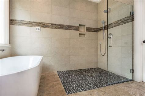 curbless bathroom showers curbless shower designs home design