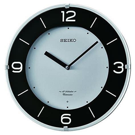 seiko qxa520klh wall clock b006zmhup0 amazon price top 5 best seiko quartz wall clock for sale 2016 product
