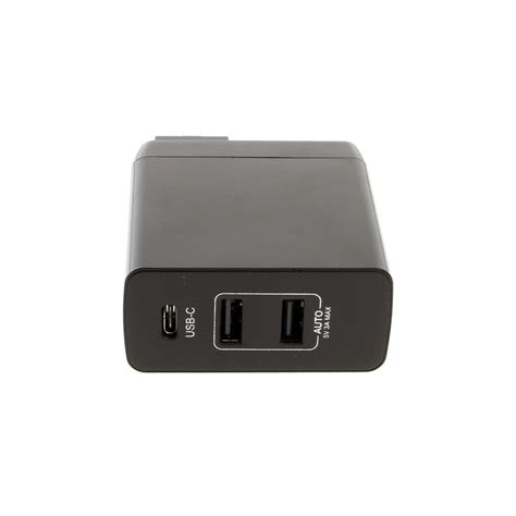 in wall usb charger usb c wall charger 45w for laptops and usb devices