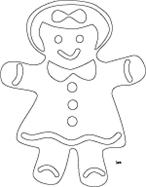 girl gingerbread man coloring pages christmas coloring printables and digital sts
