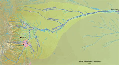 platte river map www pixshark platte river map