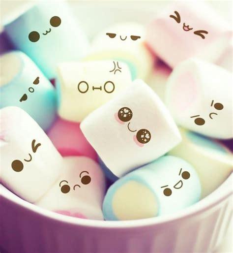 wallpaper tumblr marshmallow kawaii marshmallows tumblr