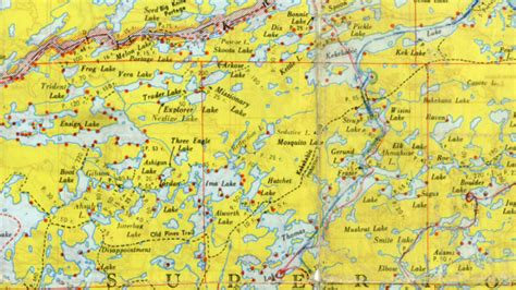 boundary waters map event 50 years ago changes my anniversary of the signing of the wilderness act boundary