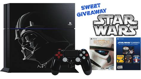 Ps4 Bundle Giveaway - limited edition star wars ps4 bundle giveaway
