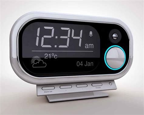 Digital Alarm Clock hdri 171 graphic design photorealistic cgi information