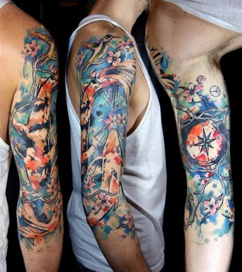 tattoo arm watercolor watercolor tattoos for men ideas and inspiration for guys
