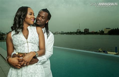 weddings exclusive paul okoye of p square anita isamas pre wedding shoot paul of p square and anita okoye