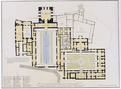 plans elevations sections and details of the alhambra alhambra palace plan jumble of interest pinterest