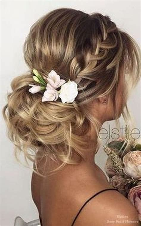 25 best ideas about easy wedding hairstyles on simple prom hairstyles easy chignon