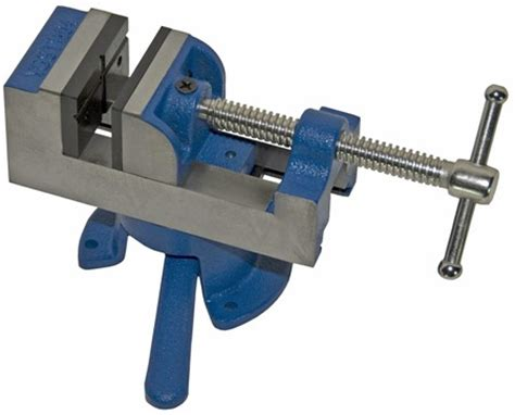 american made bench vise usab2c yost drill press american made vise with removable swivel base product details