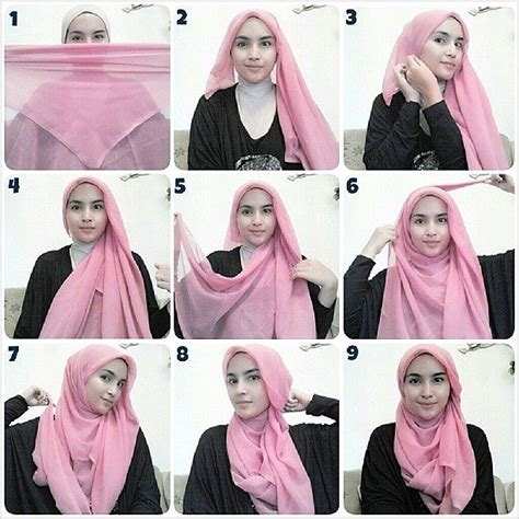 instagram tutorial hijab hijab wrapping tutorial by zahratul jannah on instagram