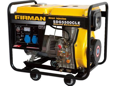 diesel generator firman