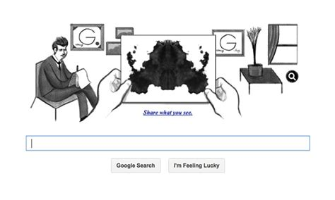 doodle users hermann rorschach doodle asks users to interpret