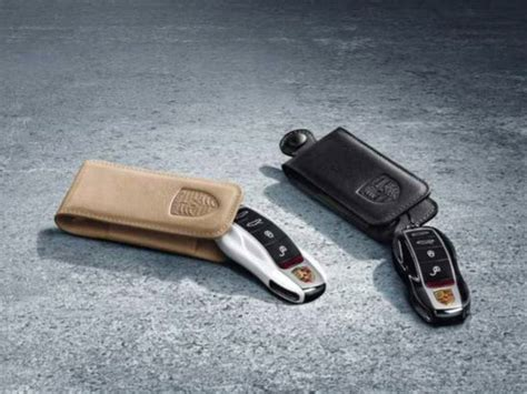 porsche pouch porsche key pouch in leather 970044000 design 911