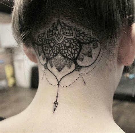 cross tattoo nape of neck 25 best ideas about nape tattoo on pinterest girl neck