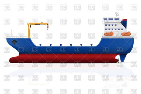cargo boat clipart cargo ship vector sohadacouri