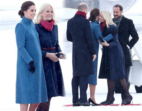 kate and william meet swedish royal couple s adorable kate middleton and william tour why did kate and wills