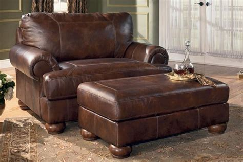Chair And A Half Recliner Leather by Ramsey Brindle Leather Chair And A Half Home