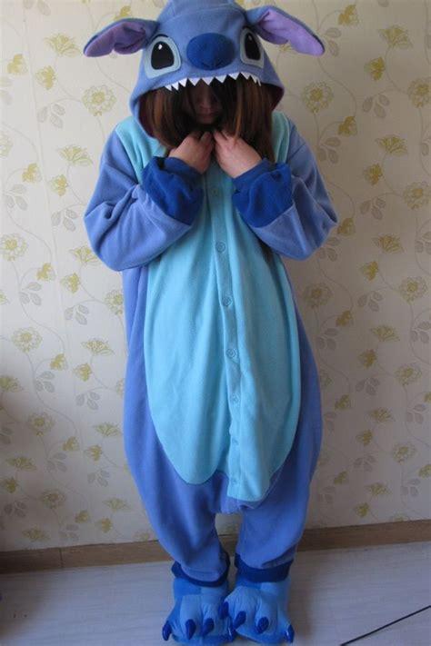 stitches pijama animal kigurumi pajamas costume pyjamas blue