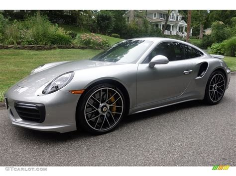 2017 black porsche 911 turbo 2017 gt silver metallic porsche 911 turbo s coupe