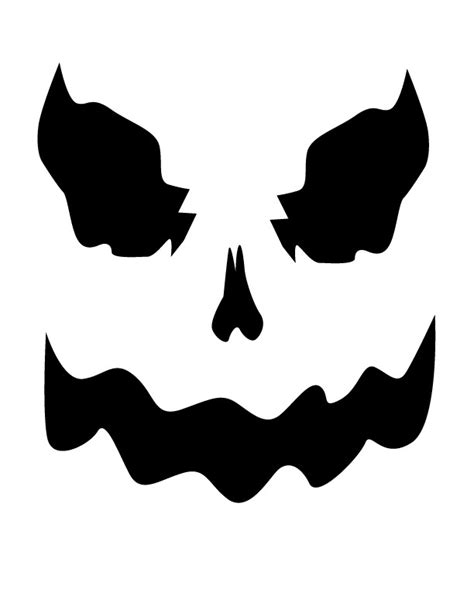 scary ghost face clipart best