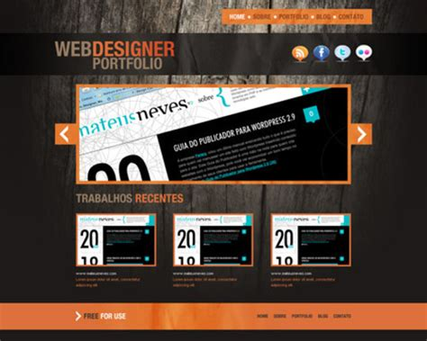 50 Essential And Free Web Template Psd Layouts Smashingapps Com Free Website Templates Layouts