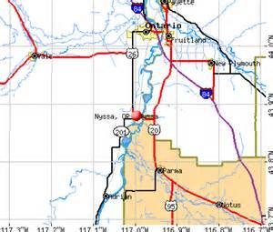 nyssa oregon or 97913 profile population maps real