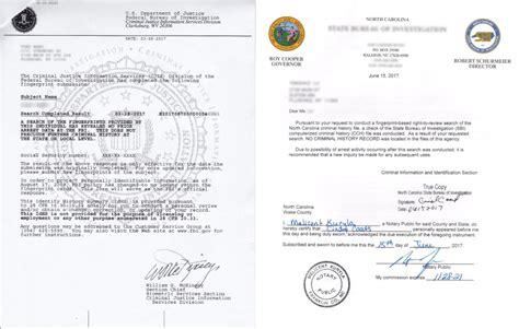 Fbi No Criminal Record 如何申请fbi美国无犯罪记录证明及公证认证