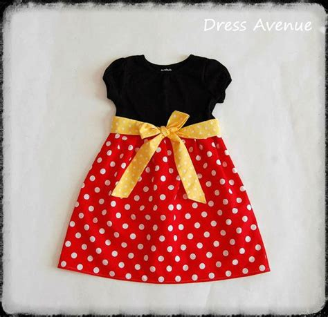 Dress Micky minnie dress mickey mouse dress toddler dress