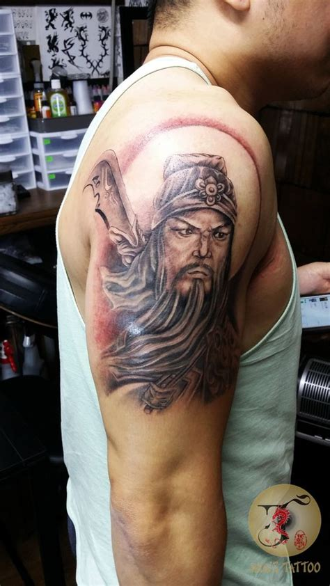 guan gong tattoo meaning pinterest the world s catalog of ideas