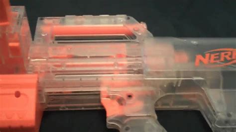 Nerf Langka Deploy Cs 6 Clear nerf n strike clear deploy cs 6 review