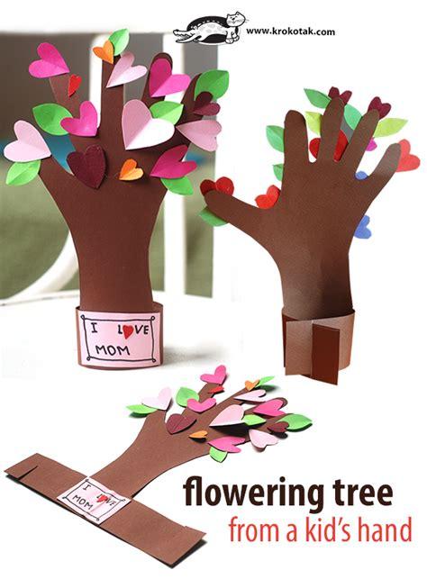 Krokotak Mothers Day Krokotak Flowering Tree From A Kid S