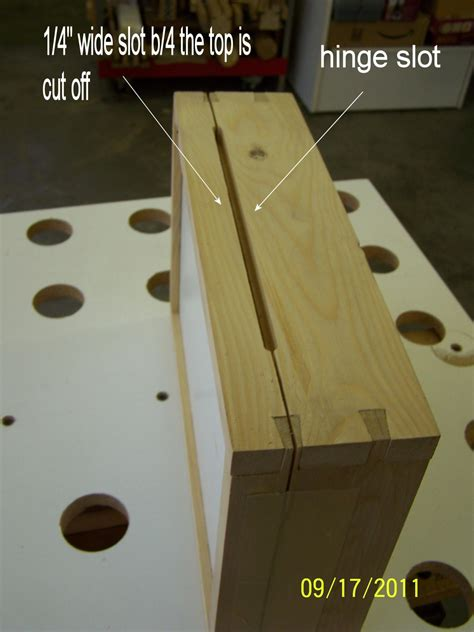 attaching hinges   jewelry box router forums