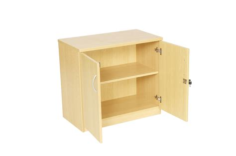 light oak storage cupboard 1 shelve office furniture