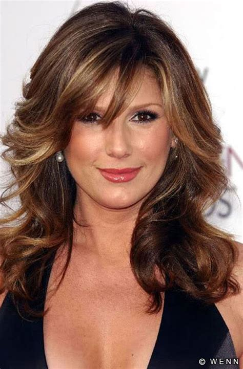 bangs on 40 year old medium hairstyles with bangs for women over 40 2017 medium