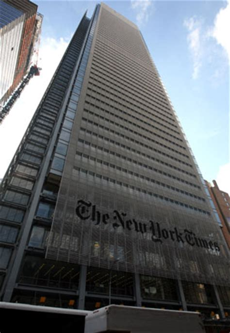 New York Times Office by New York Times Sells Headquarters For 225 Million