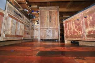painted barn wood cabinets rustic homes